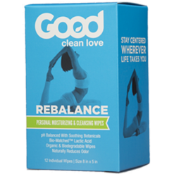 Good Clean Love ReBalance Wipes 12 wipes G00116