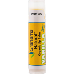 Grahams Natural USA Vanilla Lip Balm 0.15 oz GNA128