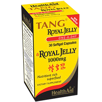 Health Aid America Tang Royal Jelly 1000 mg 30 gels HA6045