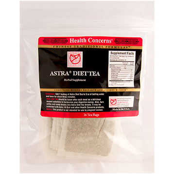 Health Concerns Astra Diet Tea 16 bags AST35