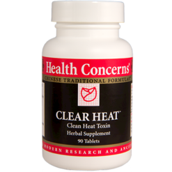 Health Concerns Clear Heat 90 tablets CLE13
