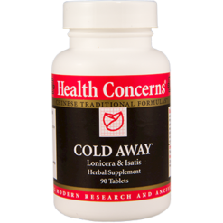 Health Concerns Cold Away 90 tabs COLD4