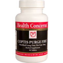 Health Concerns Coptis Purge Fire 90 tabs COPT4