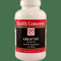 Health Concerns Great Yin 750 mg 270 tabs GREAT