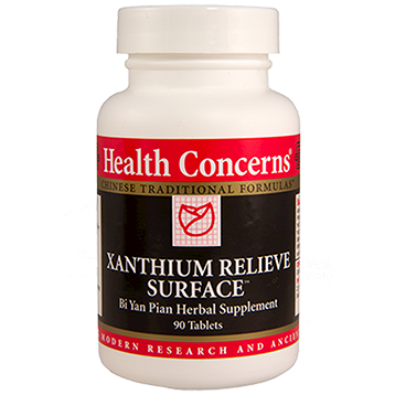 Health Concerns Xanthium Relieve Surface 90 tablets XANTH
