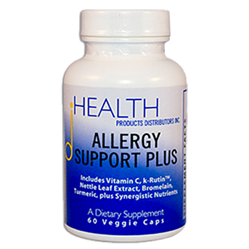 Health Products Distributors Allergy Support Plus 60 vegetarian capsules ALL22