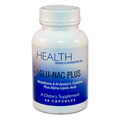 Health Products Distributors GLU NAC Plus 60 capsules GLUNA