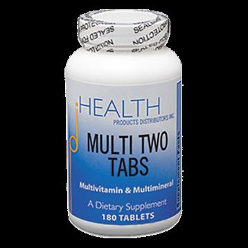 Health Products Distributors Multi Two Tabs 180 tablets MU123