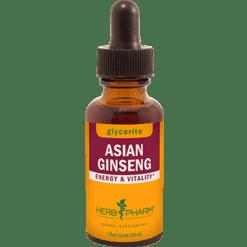 Herb Pharm Asian Ginseng Alcohol Free 1 oz CHIN6