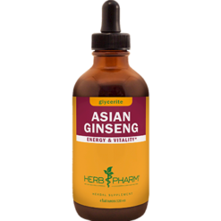 Herb Pharm Asian Ginseng Alcohol Free 4 oz CHIN9
