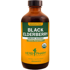 Herb Pharm Black Elderberry Alcohol Free 8 oz BLA68