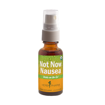 Herb Pharm Not Now Nausea Spray Herbs OnTheGo 1 oz H32166