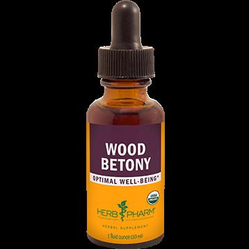 Herb Pharm Wood Betony 1 oz WOOD1