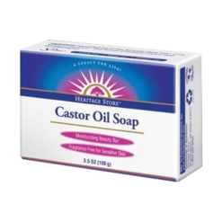 Heritage Castor Oil Soap 3.5 oz H76252