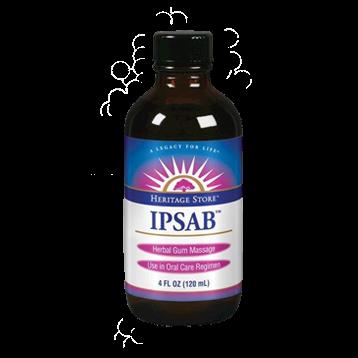 Heritage IPSAB Herbal Gum Treatment 4 fl oz H54454