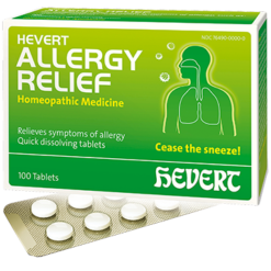 Hevert Pharmaceuticals Allergy Relief 100 tablets HV712