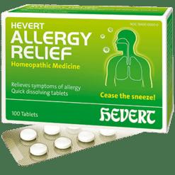 Hevert Pharmaceuticals Allergy Relief 100 tablets HV712