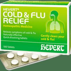 Hevert Pharmaceuticals Hevert Cold amp Flu Relief 100 tabs HV725