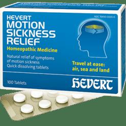 Hevert Pharmaceuticals Hevert Motion Sickness Relief 100 tabs HV713