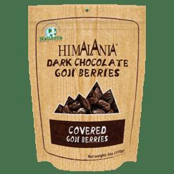 Himalania Dark Chocolate Covered Goji Berries 6 oz HB0392