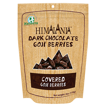 Himalania Dark Chocolate Covered Goji Berries 6 oz HB0392