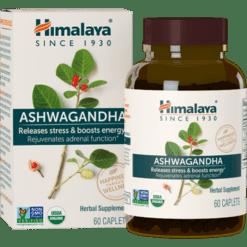 Himalaya USA Ashwaganda 60 capsules H40101