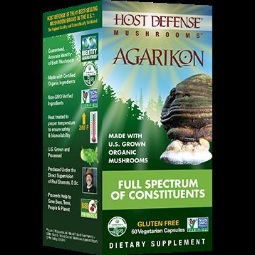 Host Defense Agarikon Capsules 60 vegcaps H31224