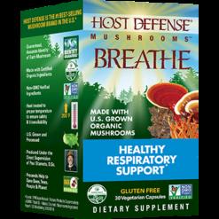 Host Defense Breathe Capsules 30 vegcaps H38513