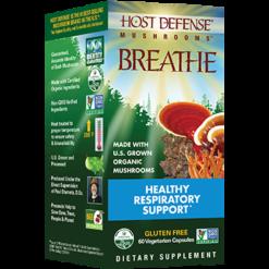 Host Defense Breathe Capsules 60 vegcaps H38520