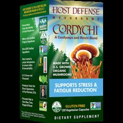 Host Defense CordyChireg 120 vegcaps H37431