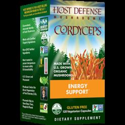 Host Defense Cordyceps capsules 120 vegcaps H31033