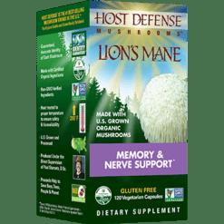 Host Defense Lion039s Mane Capsules 120 vegcaps H31637