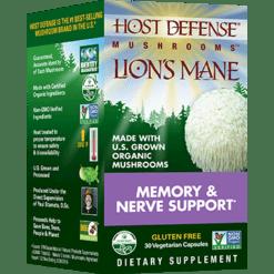 Host Defense Lion039s Mane Capsules 30 vegcaps H31613