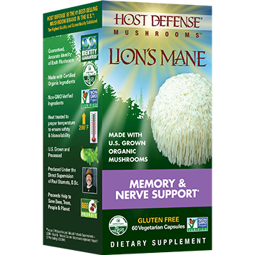 Host Defense Lion039s Mane Capsules 60 vegcaps H31620