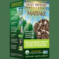 Host Defense Maitake Capsules 60 vegcaps H31521
