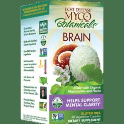 Host Defense MycoBotanicals Brain 60 vegcaps H38629