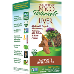 Host Defense MycoBotanicals Liver 60 vegcaps H38827