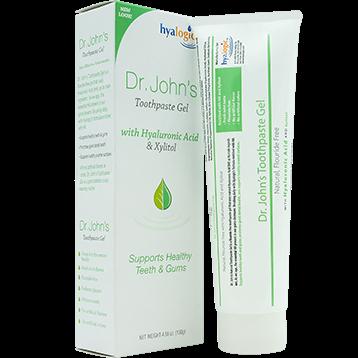Hyalogic Dr. Johns Toothpaste Gel with HA 4.58 fl oz H00285