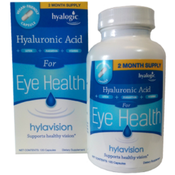 Hyalogic Hylavision Eye Health w HA 120 caps H00254