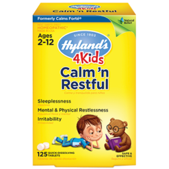 Hylands 4 Kids Calm n Restful 125 tabs H75183