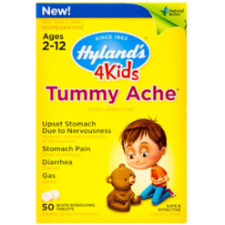 Hylands 4 Kids Tummy Ache 50 tablets H19615