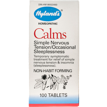 Hylands Calms 100 tabs H11203
