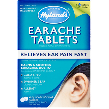 Hylands Earache Tablets 40 tabs H75071