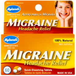 Hylands Migraine Headache Relief 60 tablets H30131