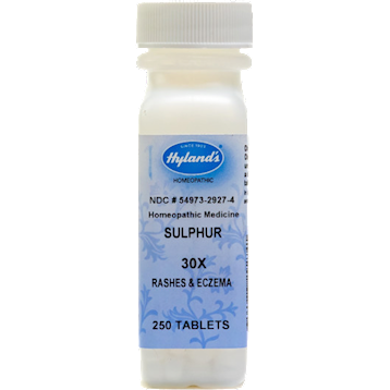 Hylands Sulphur 30X 250 tabs H29274