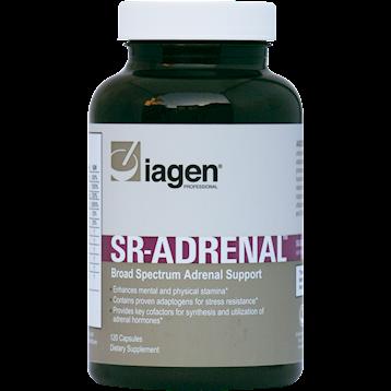 Iagen Naturals SR Adrenal Support 120 vegcaps IB1436