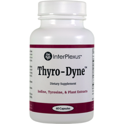 InterPlexus Thyro Dynetrade 60 Capsules IP8633
