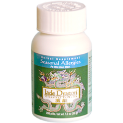 Jade Dragon Seasonal Allergies 200 ct J30207