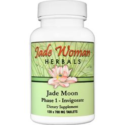 Jade Woman Herbals by Kan Jade Moon Phase 1 Invigorate 120 tabs JMI120