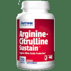 Jarrow Formulas Arginine Citrulline Sustain 120 tablets J90728